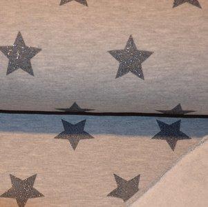 Jogging glitter stars Ecru