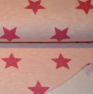 Jogging glitter stars - Pink