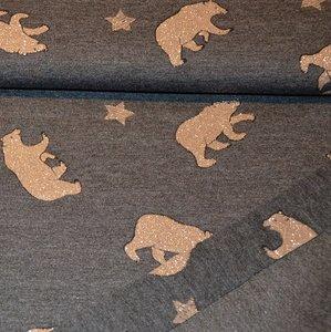 Jogging glitter bears