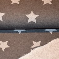 Jogging glitter stars Dark grey