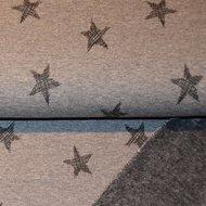 Happy-fleece-stars-Grey
