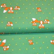 Spotty Fox - Babyrib - Green